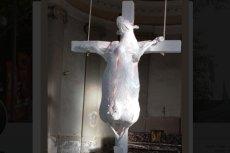 Taka instalacja autorstwa Toma Hercka pojawiła się w kościele św. Jana Chrzciciela w mieście Borgloon w Belgii.