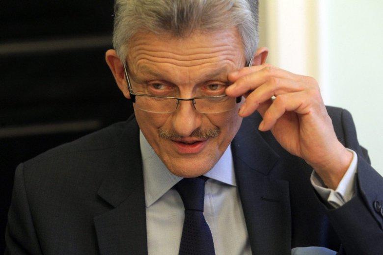 Stanisław Piotrowicz żartował z siedzibą TK?