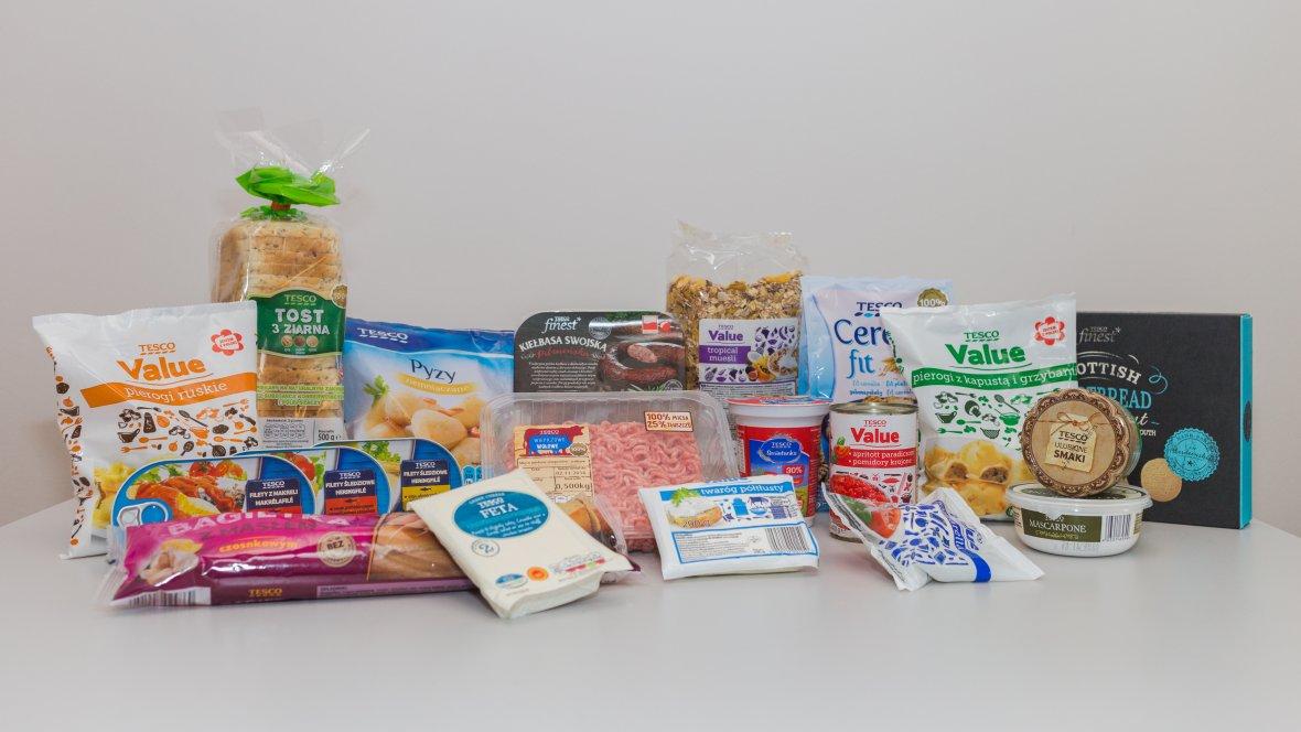 Wśród produktów marki Tesco jest zaskakująco dużo produktów z naturalnym składem.