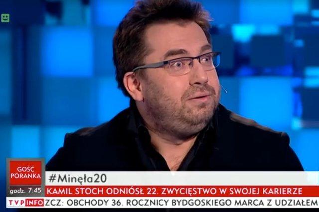Bartosz Węglarczyk nie miał litości dla swoich kolegów z publicznych mediów.
