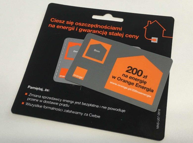 200 zł na rachunki za prąd, gwarancja 4-letniej niezmiennej ceny za energię i brak uciążliwych dla klienta formalności – tak skonstruowaną ofertą Orange Energia chce przekonać do siebie tych, którzy myślą nad zmianą dostawcy elektryczności