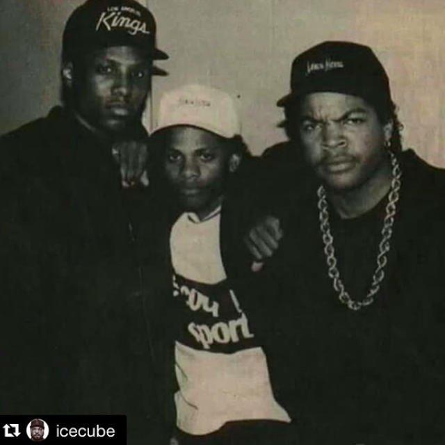 Archiwalne zdjęcie: Mc Ren, Eazy-E, Ice Cube