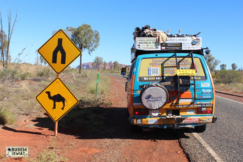 """""""Busem przez świat"""" obiera różne kierunki. Tu widoczna Australia."""
