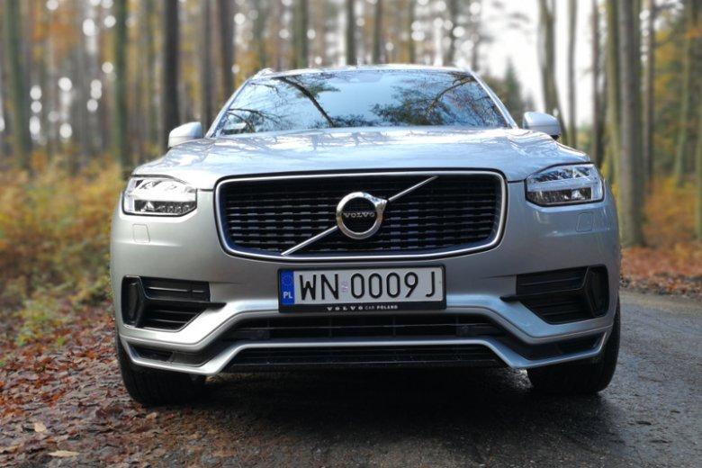 Nowy grill to chyba najbardziej charakterystyczny element Volvo XC90.
