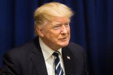 Pomarańczowy odcień skóry to jedna z wizytówek prezydenta USA.