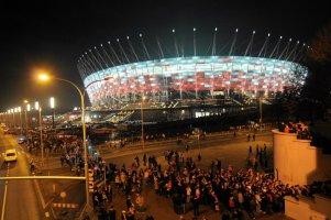 Stadion robi wrażenie i wygląda naprawdę imponująco