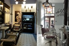 Wnętrze Rostowski Barber Shop