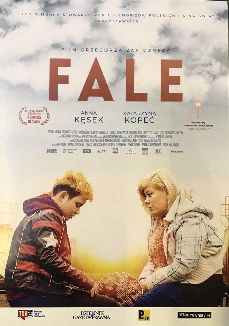 "Plakat filmu ""Fale"""