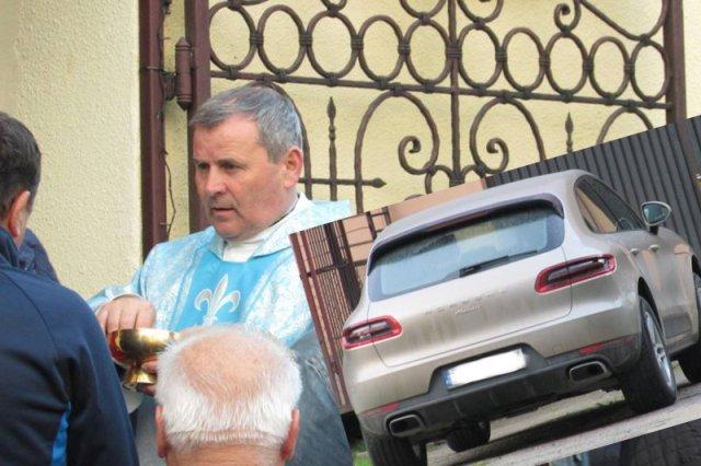 Sprawa ks. Wiesława Maciaszka z Kasiny Wielkiej za sprawą doniesień o jego porsche za 400 tys. zł obiegła całą Polskę.