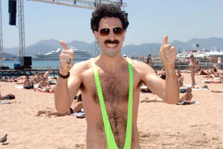 Kąpielówki a la Borat to dobry pomysł? Policja w Kazachstanie jest innego zdania. Aresztowała turystów, którzy założyli mankini.