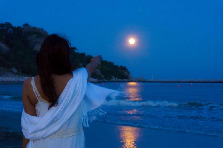 Księżyc bardzo wpływa na życie człowieka