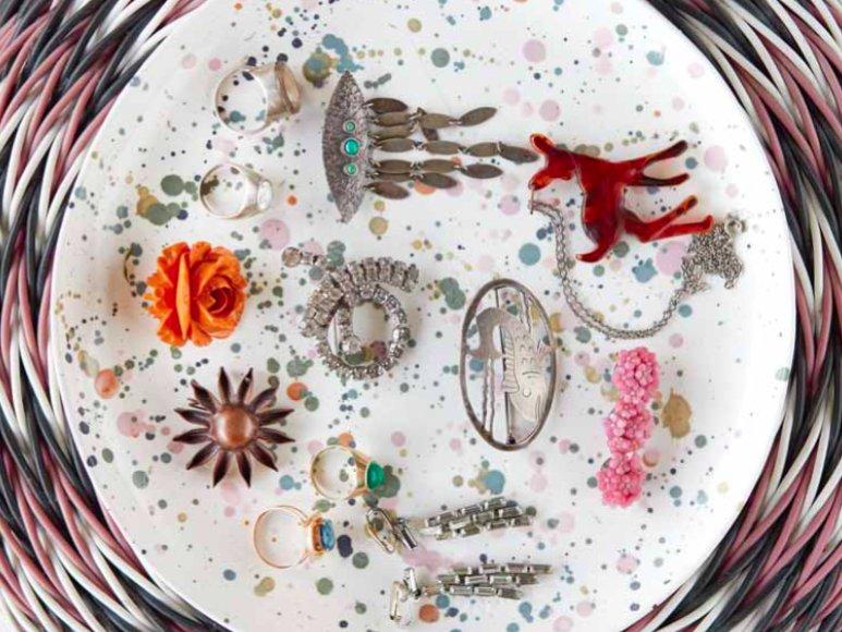 Biżuteria należąca do kostiumografki Anny Tyślerowicz