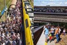 Wiele osób ze Śląska nie dojechało na defiladę do Katowic. Zabrakło dla nich miejsc w pociągach