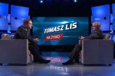 """Umowa programu """"Tomasz Lis na Żywo"""" z TVP2 kończy się w styczniu 2016 roku."""