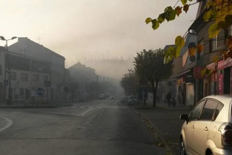 Kalwaria Zebrzydowska w smogu