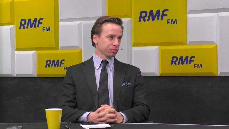 Krzysztof Bosak był gościem Roberta Mazurka w RMF FM