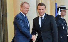 Przewodniczący Rady Europejskiej Donald Tusk spotkał się z nowym prezydentem Francji Emmanuelem Macronem.