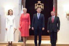 Para prezydencka w Jordanii. Agata Duda zachwyca internautów.