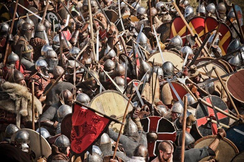 Centrum Słowian i Wikingów - bitwa