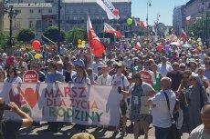 Tak wyglądał Marsz dla Życia i Rodziny w Warszawie.