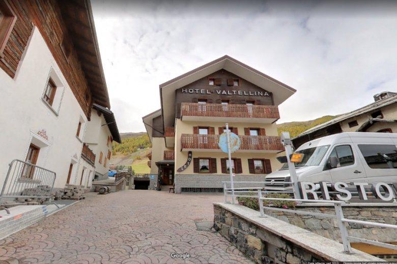 Hotel Vatellina w Livigno. To tu Polka miała zgłosić, że  została zgwałcona