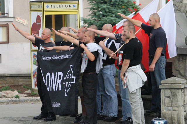Internauci domagają się od władz i policji stanowczej rozprawy ze środowiskami skrajnej prawicy i neofaszystami.