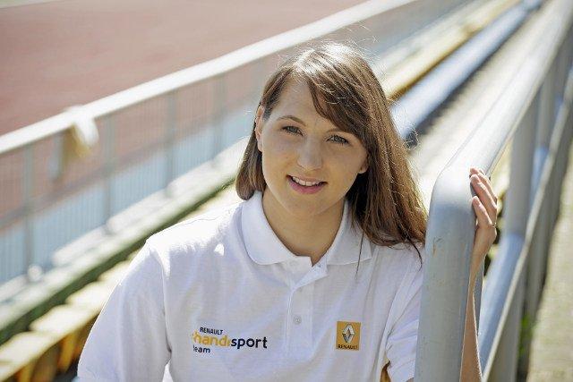 Anna Omielan, stypendystka Renault Handisport Team