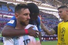 Tak Paul Pogba pocieszał Leo Messiego po przegranej Argentyny o ćwierćfinał Mundialu.