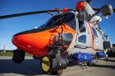 Śmigłowiec SAR podjął udaną próbę uratowania dmuchanego jednorożca