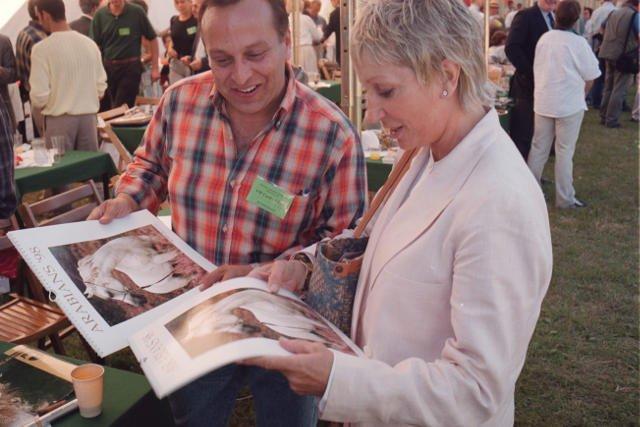 Shirley Watts zabrała swoje konie z Janowa Podlaskiego.