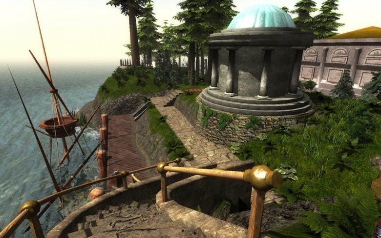 """Gra przygodowa """"Myst"""", w której każda lokacja zawiera mistrzowsko skonstruowaną łamigłówkę, zyskała miano pioniera rozrywki w stylu Escape Room"""