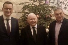 Kaczyński, Morawiecki i Orbán dyskutowali na temat współpracy i przyszłości Unii.