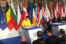 Szef KE, Jean-Claude Juncker, wzbudził zainteresowanie swoim zachowaniem podczas szczytu UE w Rzymie.