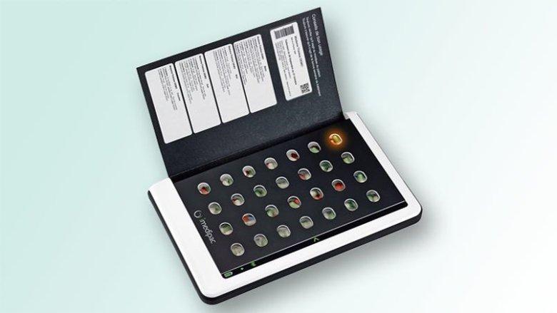 Elektroniczne pudełko na tabletki (Medissimo)
