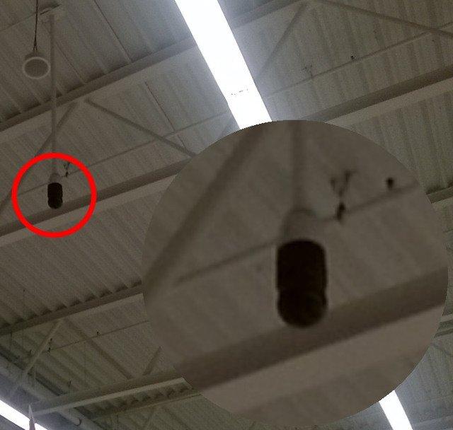 Zdjęcie przedstawiające instalację z zamontowaną głowicą kamery