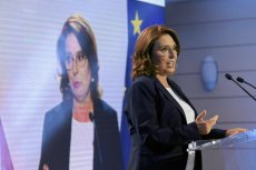 Małgorzata Kidawa-Błońska na konwencji KO w Łodzi powiedziała, że w Polsce po 1989 r. nie było tak pazernej władzy jak PiS.