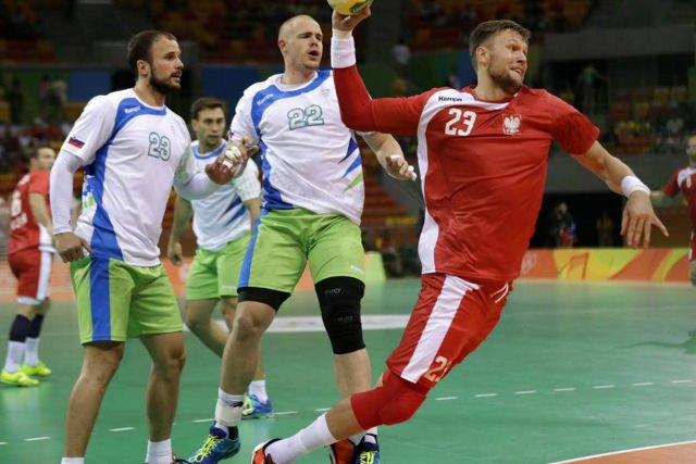 Polscy piłkarze ręczni przegrali dziś mecz ze Słoweńcami 20:25