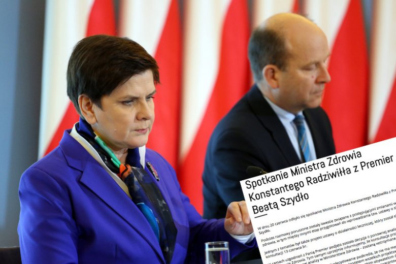 Pomysł Konstantego Radziwiłła nie spodobał się premier Beacie Szydło. Po wizycie na dywaniku, prace nad nim zostały zawieszone. W praktyce, trafił do kosza.