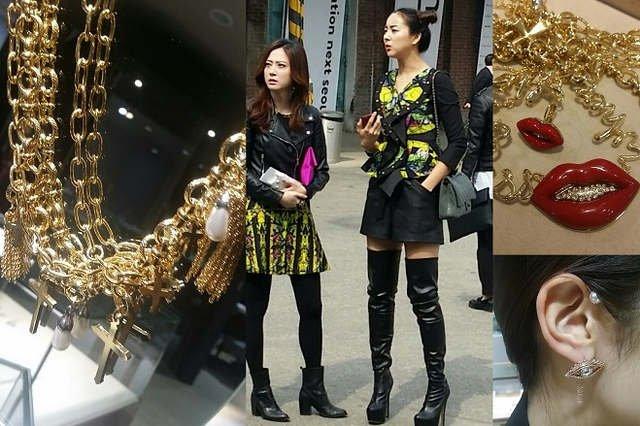W Seulu nie dzieli się biżuterii na wyjście i na co dzień!