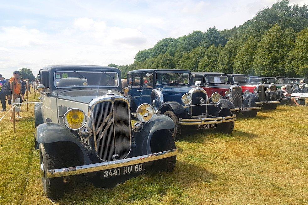 Zlot Citroëna w La Ferté-Vidame przyciągnął około 4,5 tysiąca klasyków. To wydarzenie organizowane na 100-lecie marki.