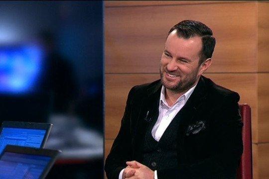 Potrafił czarować na wizji - tu podczas wywiadu dla biznesowego kanału TVN CNBC