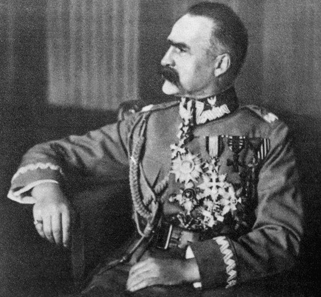 Marszałek Józef Piłsudski - legenda II RP.