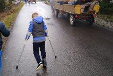 Niepełnosprawny 8-latek o własnych siłach doszedł nad Morskie Oko.