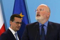 Frans Timmermans to jeden z największych krytyków władzy PiS w Komisji Europejskiej.