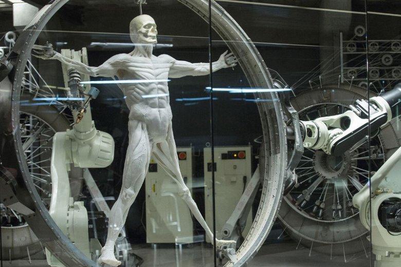 W świecie Westworld androidy są w całości drukowane w technologii 3D.
