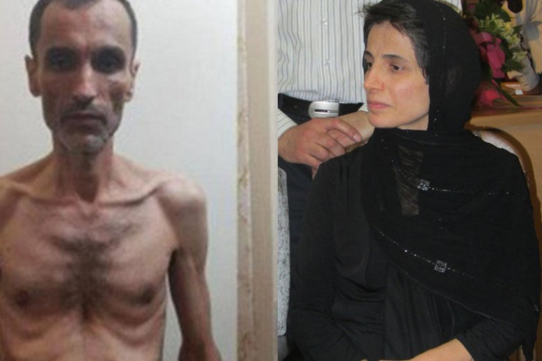 Były wiceprezydent prowadzi w więzieniu strajk głodowy, Nasrin Sotude trafiła do aresztu w środę.