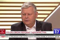 """Marek Suski, szef gabinetu politycznego premiera Morawieckiego był gościem programu """"Woronicza 17"""" w TVP Info"""