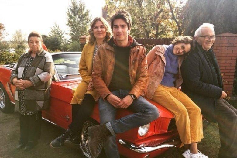 Filmowa rodzina w komplecie