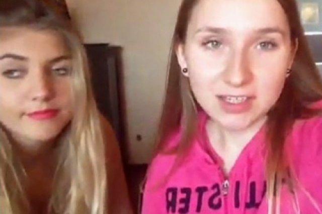 Te dwie polskie nastolatki próbują zdobyć sławę na YouTube dzięki ujawnianiu pikantnych szczegółów seksu grupowego z zespołem Rae Sremmurd.
