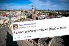Ukrainka zamieściła post w poszukiwaniu pracy. Takiej reakcji internautów z Krakowa nie mogła się spodziewać